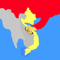 SOS Vietnam — Logo original Nguyen Dinh Nhan